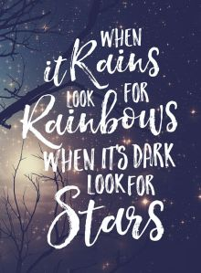 Look for Rainbows, Look for Stars